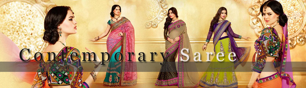 Contemporary Saris