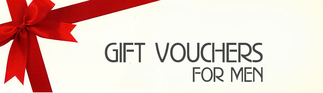 Gift Vouchers for Men